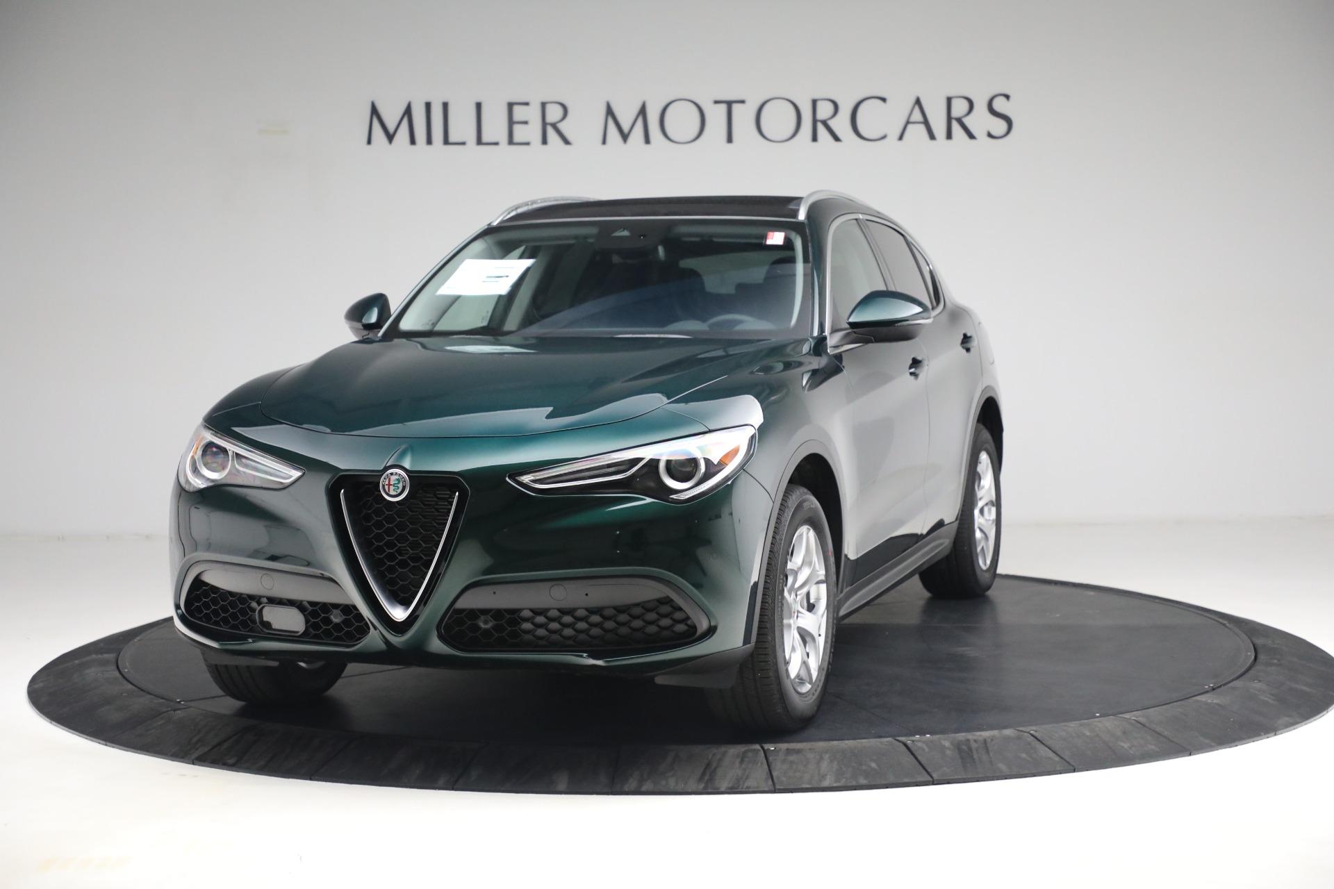 New 2021 Alfa Romeo Stelvio Q4 for sale $50,445 at Maserati of Westport in Westport CT 06880 1