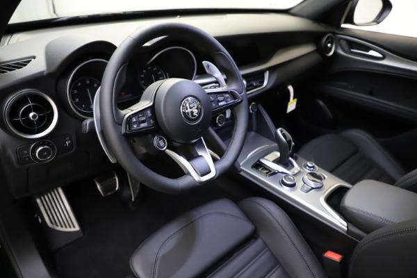 New 2021 Alfa Romeo Stelvio Ti Sport Q4 for sale $57,200 at Maserati of Westport in Westport CT 06880 14