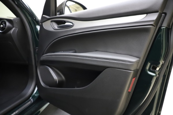 New 2021 Alfa Romeo Stelvio Ti Sport Q4 for sale $57,200 at Maserati of Westport in Westport CT 06880 26