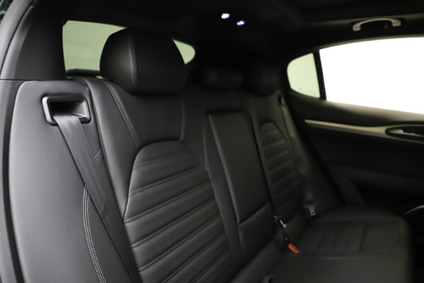 New 2021 Alfa Romeo Stelvio Ti Sport Q4 for sale $57,200 at Maserati of Westport in Westport CT 06880 27