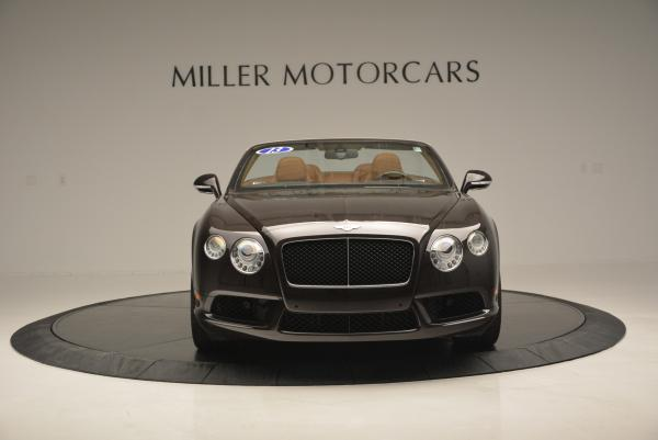 Used 2013 Bentley Continental GTC V8 for sale Sold at Maserati of Westport in Westport CT 06880 12