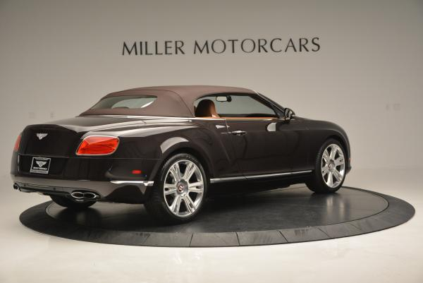 Used 2013 Bentley Continental GTC V8 for sale Sold at Maserati of Westport in Westport CT 06880 21