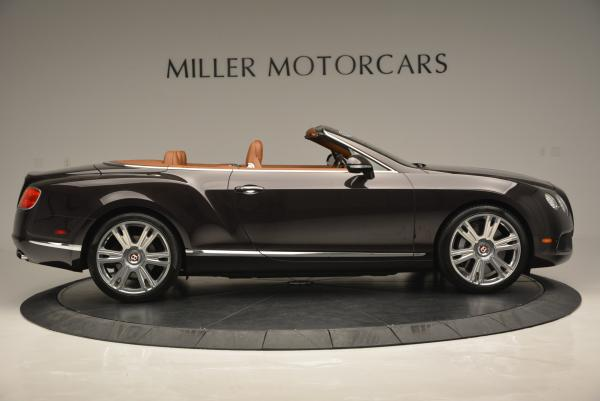 Used 2013 Bentley Continental GTC V8 for sale Sold at Maserati of Westport in Westport CT 06880 9