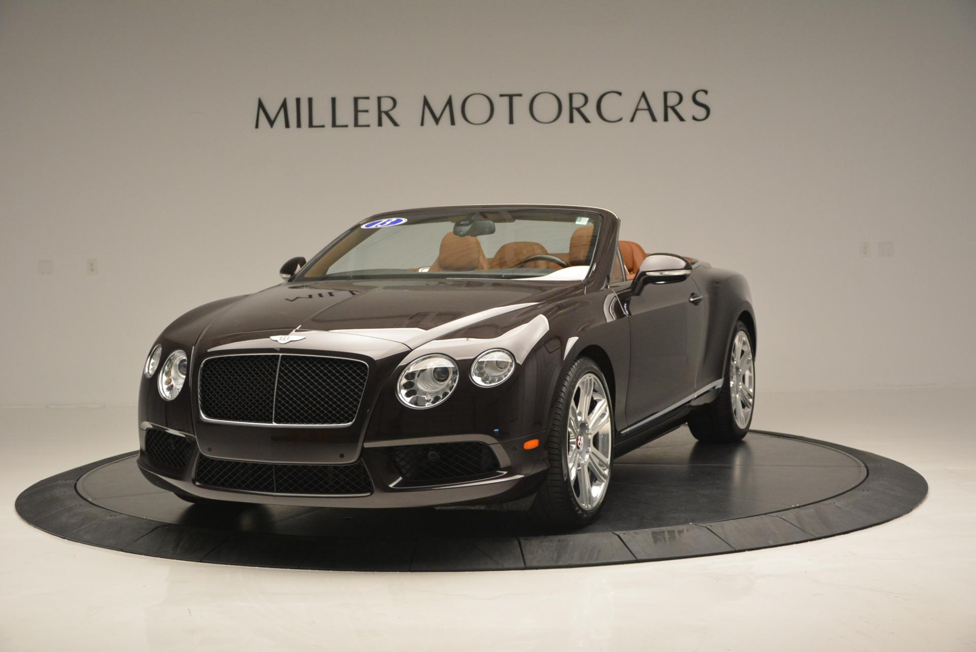 Used 2013 Bentley Continental GTC V8 for sale Sold at Maserati of Westport in Westport CT 06880 1