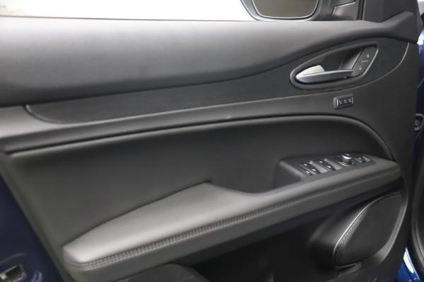 New 2021 Alfa Romeo Stelvio Q4 for sale $49,945 at Maserati of Westport in Westport CT 06880 14
