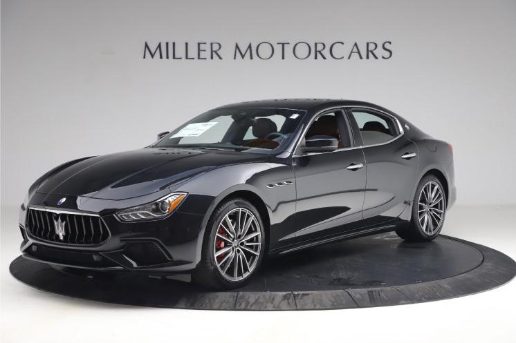 New 2021 Maserati Ghibli S Q4 for sale $89,775 at Maserati of Westport in Westport CT 06880 1