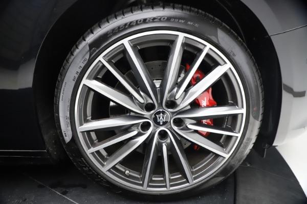 New 2021 Maserati Ghibli S Q4 for sale Call for price at Maserati of Westport in Westport CT 06880 28