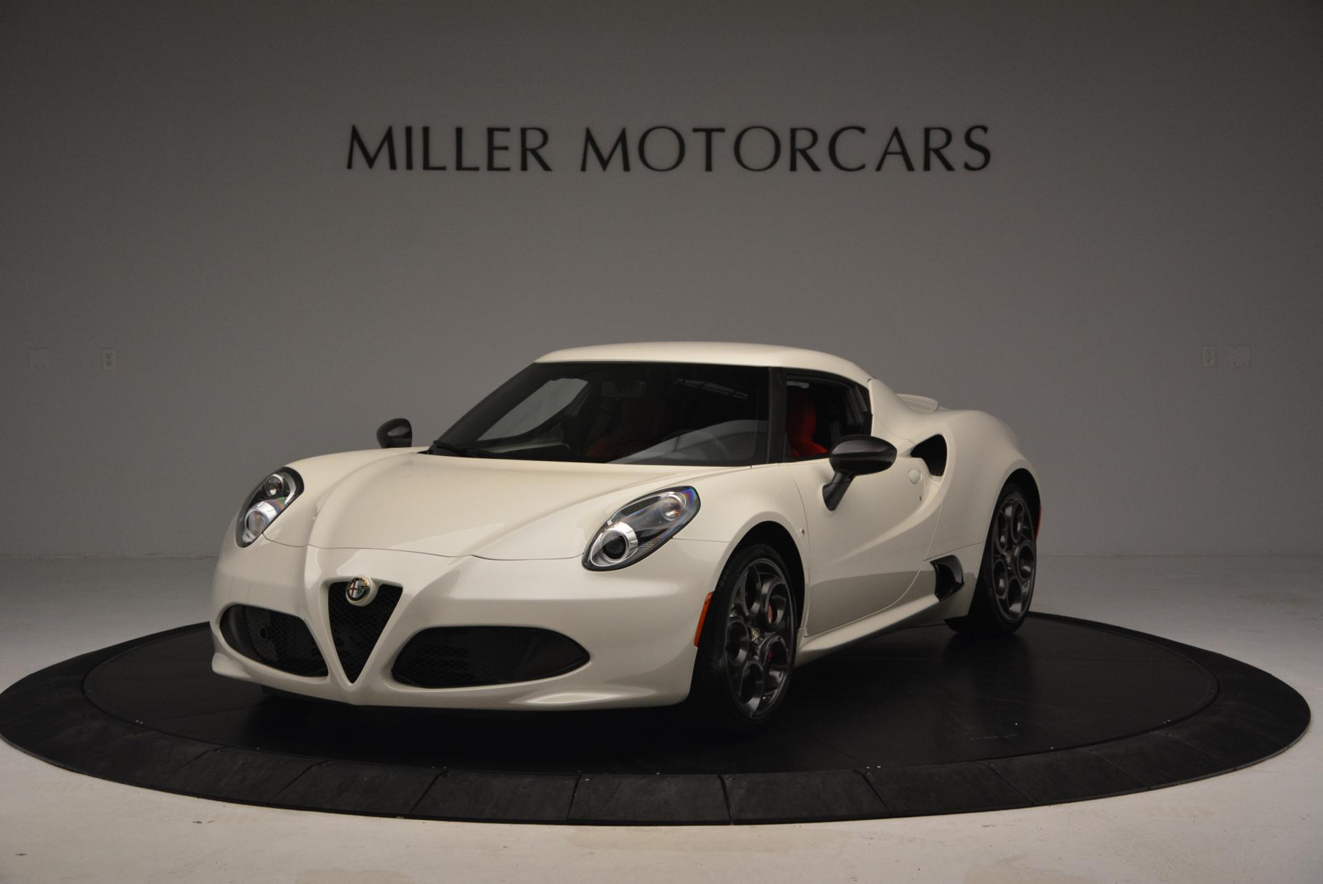 Used 2015 Alfa Romeo 4C for sale Sold at Maserati of Westport in Westport CT 06880 1