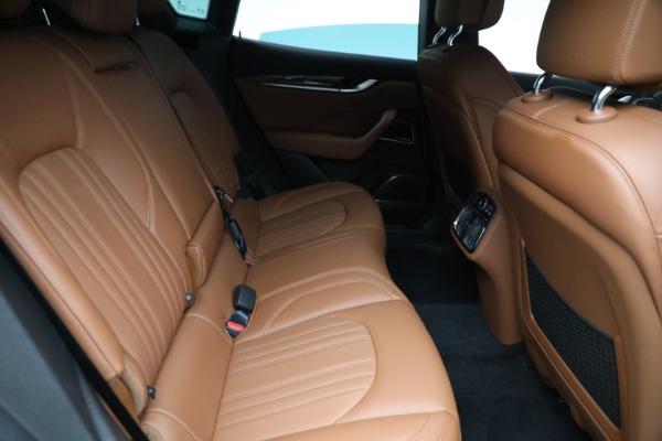 New 2021 Maserati Levante Q4 GranLusso for sale $89,735 at Maserati of Westport in Westport CT 06880 25
