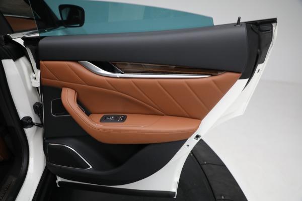 New 2021 Maserati Levante Q4 GranLusso for sale $89,735 at Maserati of Westport in Westport CT 06880 26