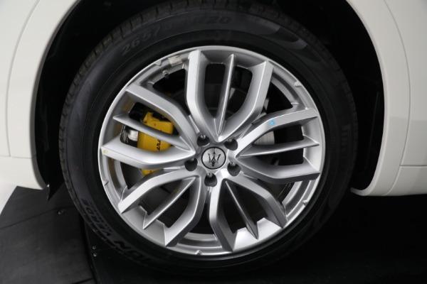 New 2021 Maserati Levante Q4 GranLusso for sale $89,735 at Maserati of Westport in Westport CT 06880 27
