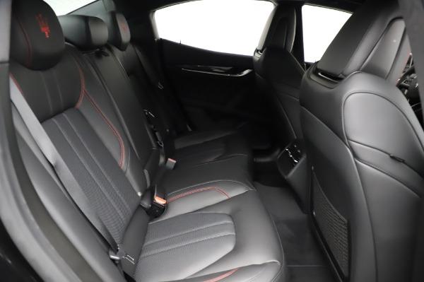 New 2021 Maserati Ghibli S Q4 GranSport for sale $100,635 at Maserati of Westport in Westport CT 06880 25