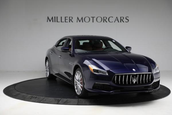 New 2021 Maserati Quattroporte S Q4 GranLusso for sale $125,149 at Maserati of Westport in Westport CT 06880 12