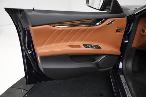 New 2021 Maserati Quattroporte S Q4 GranLusso for sale $125,149 at Maserati of Westport in Westport CT 06880 17
