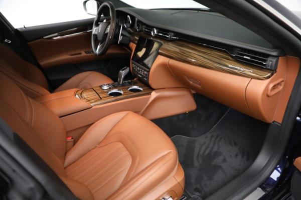 New 2021 Maserati Quattroporte S Q4 GranLusso for sale $125,149 at Maserati of Westport in Westport CT 06880 22
