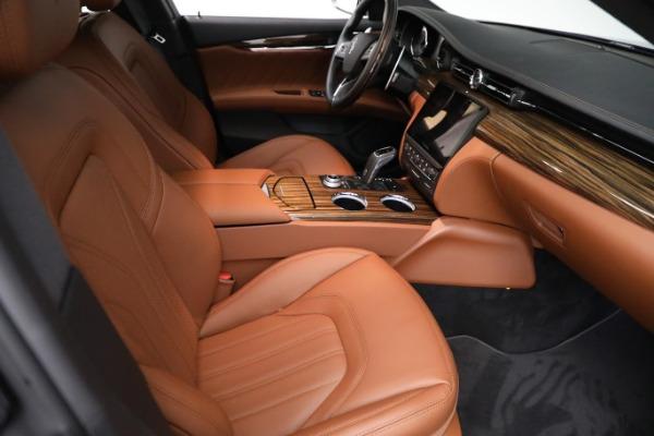 New 2021 Maserati Quattroporte S Q4 GranLusso for sale $125,149 at Maserati of Westport in Westport CT 06880 23