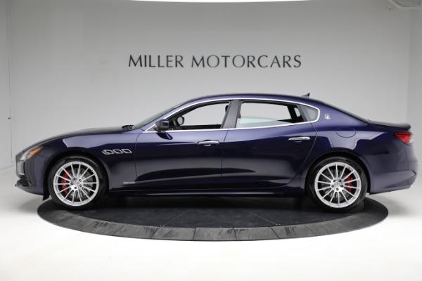 New 2021 Maserati Quattroporte S Q4 GranLusso for sale $125,149 at Maserati of Westport in Westport CT 06880 3
