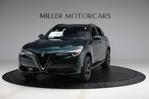 New 2021 Alfa Romeo Stelvio Ti Sport Q4 for sale $58,500 at Maserati of Westport in Westport CT 06880 1