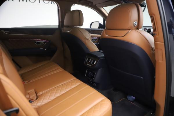 Used 2018 Bentley Bentayga W12 Signature for sale Sold at Maserati of Westport in Westport CT 06880 28