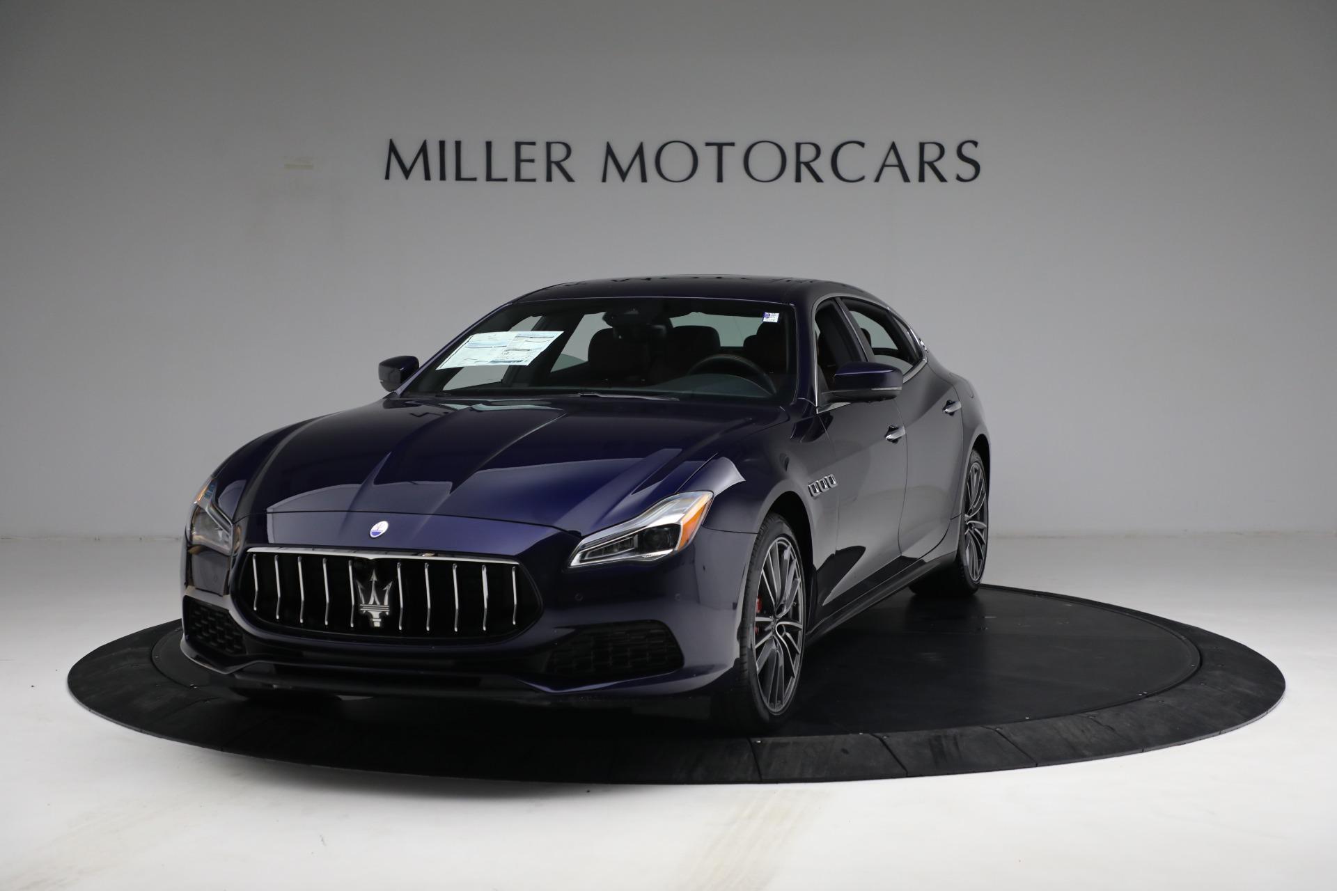 New 2021 Maserati Quattroporte S Q4 for sale $121,749 at Maserati of Westport in Westport CT 06880 1