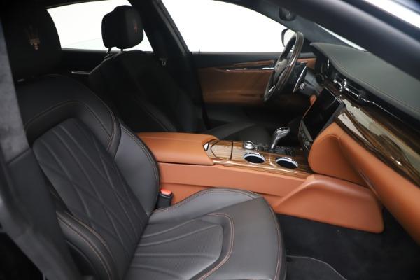 New 2021 Maserati Quattroporte S Q4 GranLusso for sale $129,135 at Maserati of Westport in Westport CT 06880 19