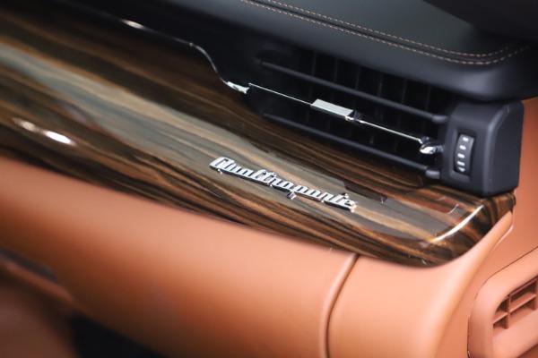 New 2021 Maserati Quattroporte S Q4 GranLusso for sale $129,135 at Maserati of Westport in Westport CT 06880 21