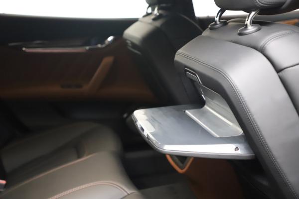 New 2021 Maserati Quattroporte S Q4 GranLusso for sale $129,135 at Maserati of Westport in Westport CT 06880 26