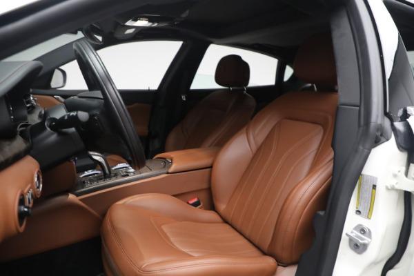 New 2021 Maserati Quattroporte S Q4 GranLusso for sale $120,599 at Maserati of Westport in Westport CT 06880 13