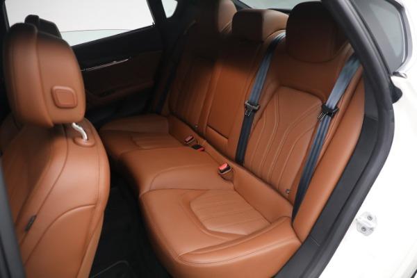 New 2021 Maserati Quattroporte S Q4 GranLusso for sale $120,599 at Maserati of Westport in Westport CT 06880 20