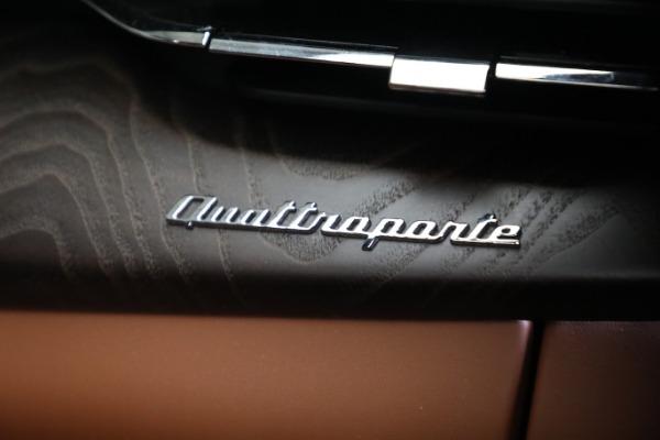 New 2021 Maserati Quattroporte S Q4 GranLusso for sale $120,599 at Maserati of Westport in Westport CT 06880 22