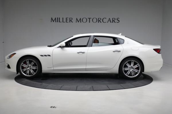 New 2021 Maserati Quattroporte S Q4 GranLusso for sale $120,599 at Maserati of Westport in Westport CT 06880 3