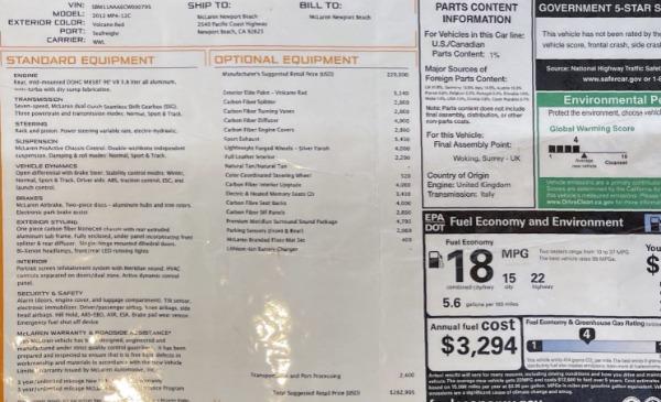 Used 2012 McLaren MP4-12C for sale Call for price at Maserati of Westport in Westport CT 06880 28