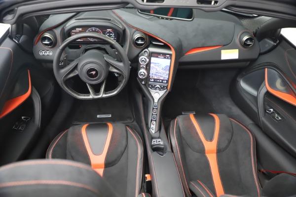 New 2021 McLaren 720S Spider for sale Sold at Maserati of Westport in Westport CT 06880 25