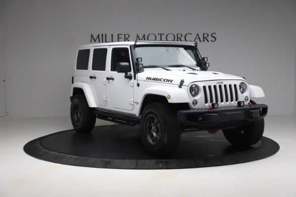 Used 2015 Jeep Wrangler Unlimited Rubicon Hard Rock for sale Call for price at Maserati of Westport in Westport CT 06880 11