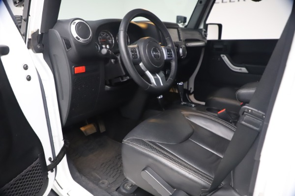 Used 2015 Jeep Wrangler Unlimited Rubicon Hard Rock for sale Call for price at Maserati of Westport in Westport CT 06880 14