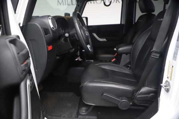 Used 2015 Jeep Wrangler Unlimited Rubicon Hard Rock for sale Call for price at Maserati of Westport in Westport CT 06880 15