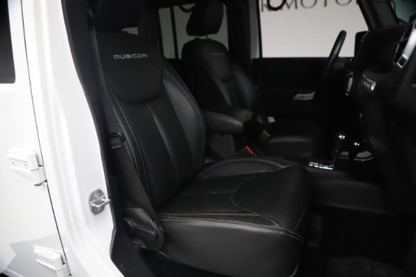 Used 2015 Jeep Wrangler Unlimited Rubicon Hard Rock for sale Call for price at Maserati of Westport in Westport CT 06880 19