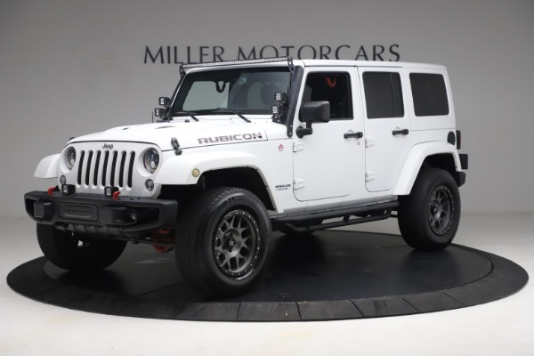 Used 2015 Jeep Wrangler Unlimited Rubicon Hard Rock for sale Call for price at Maserati of Westport in Westport CT 06880 2