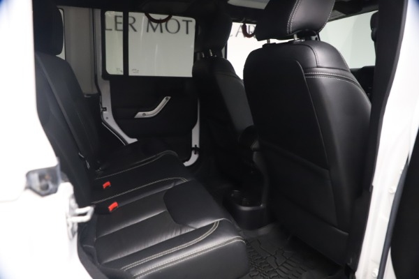 Used 2015 Jeep Wrangler Unlimited Rubicon Hard Rock for sale Call for price at Maserati of Westport in Westport CT 06880 21