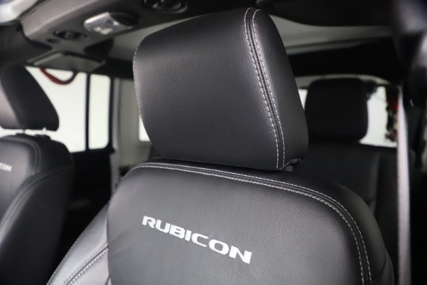 Used 2015 Jeep Wrangler Unlimited Rubicon Hard Rock for sale Call for price at Maserati of Westport in Westport CT 06880 26