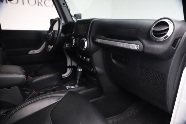 Used 2015 Jeep Wrangler Unlimited Rubicon Hard Rock for sale Call for price at Maserati of Westport in Westport CT 06880 27