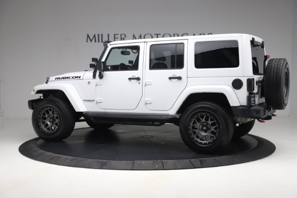 Used 2015 Jeep Wrangler Unlimited Rubicon Hard Rock for sale Call for price at Maserati of Westport in Westport CT 06880 4