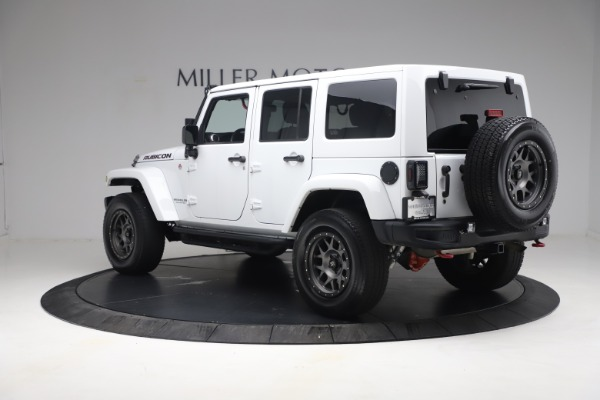 Used 2015 Jeep Wrangler Unlimited Rubicon Hard Rock for sale Call for price at Maserati of Westport in Westport CT 06880 5