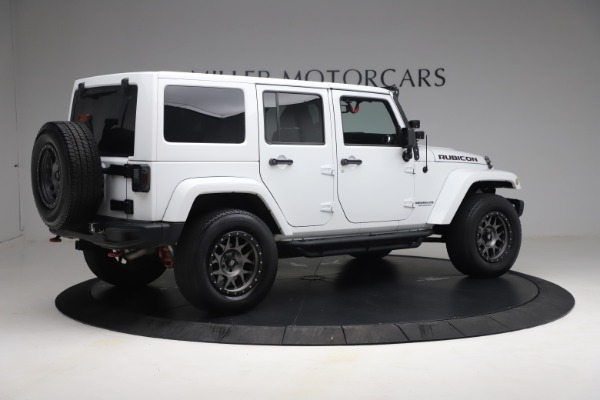 Used 2015 Jeep Wrangler Unlimited Rubicon Hard Rock for sale Call for price at Maserati of Westport in Westport CT 06880 8