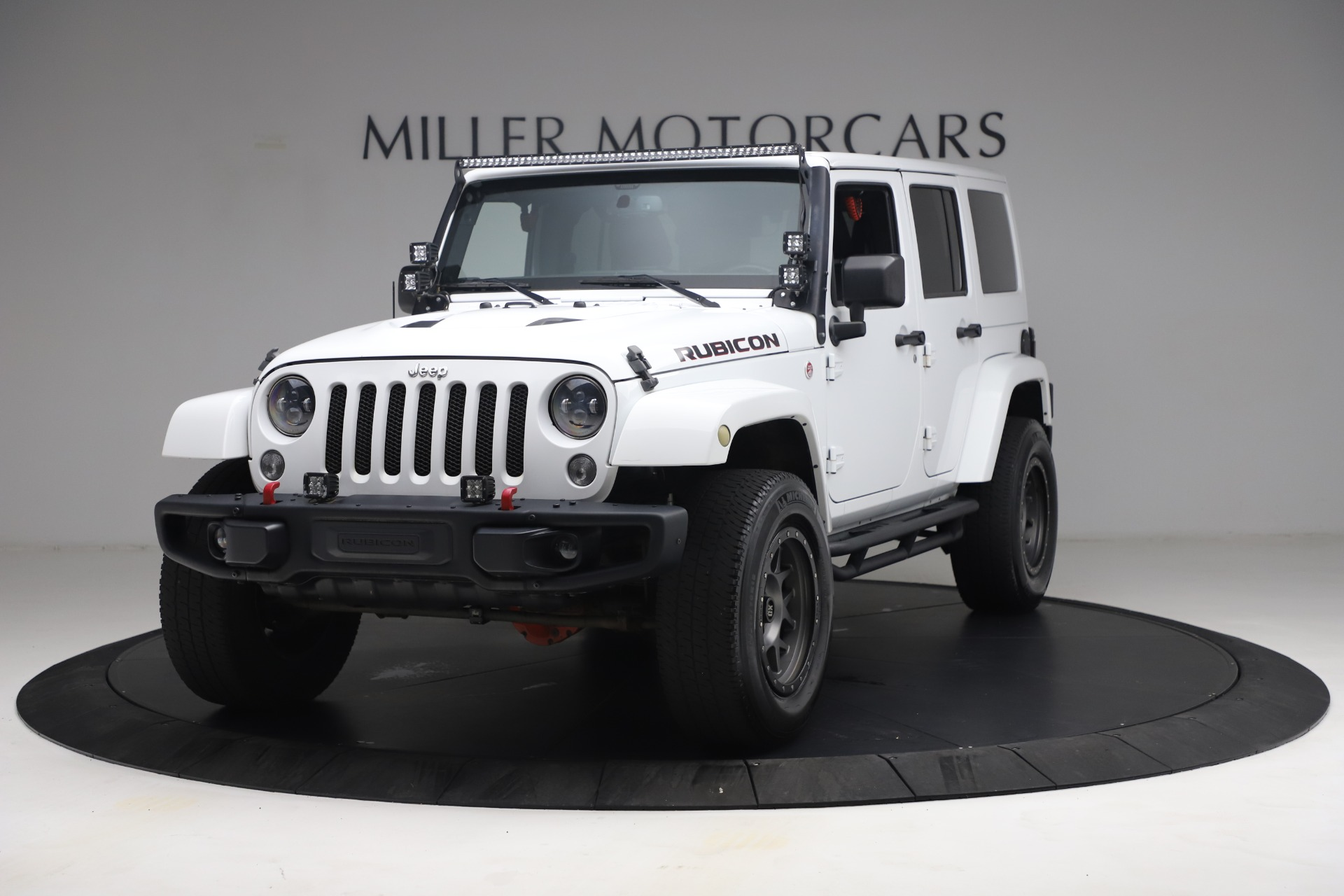 Used 2015 Jeep Wrangler Unlimited Rubicon Hard Rock for sale Call for price at Maserati of Westport in Westport CT 06880 1