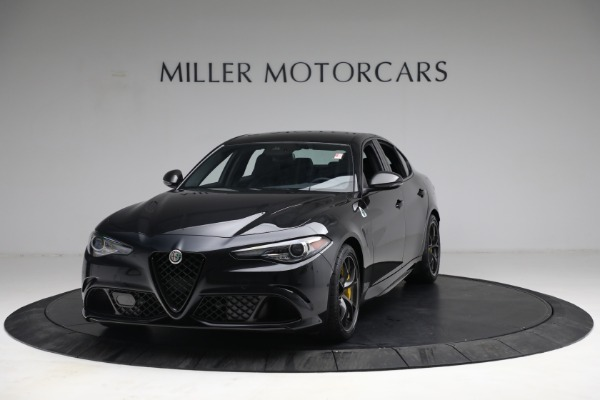 New 2021 Alfa Romeo Giulia Quadrifoglio for sale $81,505 at Maserati of Westport in Westport CT 06880 1