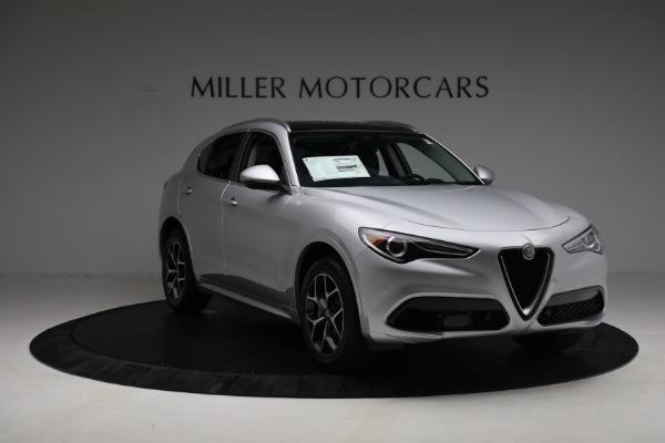 New 2021 Alfa Romeo Stelvio Ti Q4 for sale $50,505 at Maserati of Westport in Westport CT 06880 11