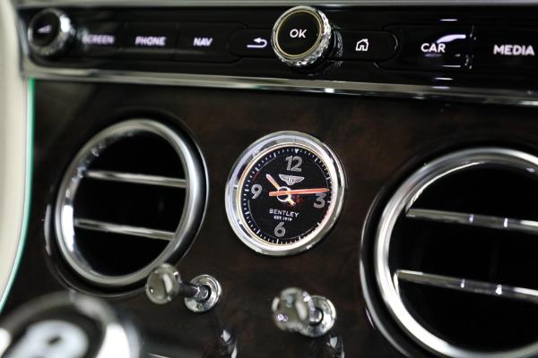 New 2020 Bentley Continental GT W12 for sale $264,255 at Maserati of Westport in Westport CT 06880 27