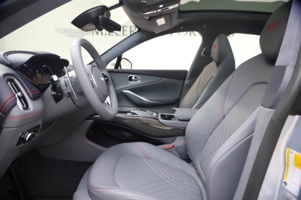 New 2021 Aston Martin DBX for sale $210,786 at Maserati of Westport in Westport CT 06880 12
