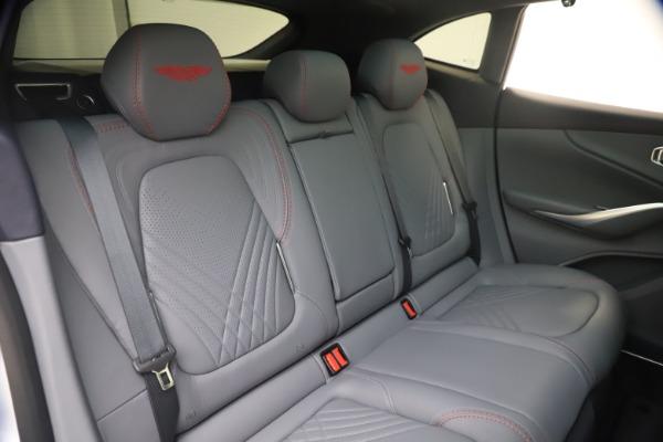 New 2021 Aston Martin DBX for sale $210,786 at Maserati of Westport in Westport CT 06880 22